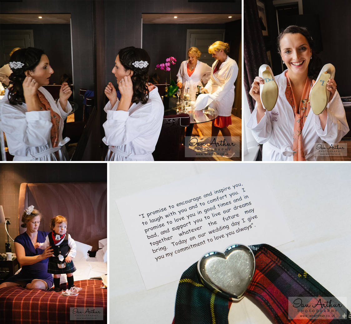 Cameron House Wedding – Scottish Theme with a Twist