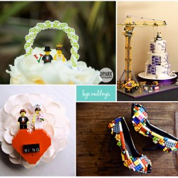 lego themed weddings