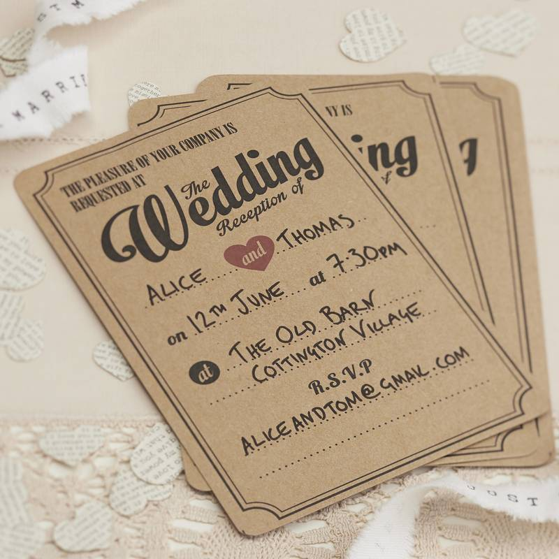 Wedding invitation inspiration ideas magic aisle wedding reception invite filmwisefo